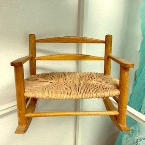 COPY - Doll rocking chair